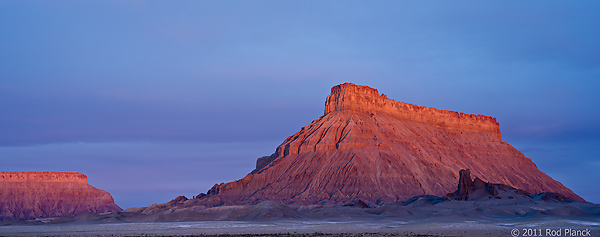 Factory Butte at Dawn, BLM, Cainville, Utah