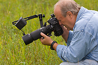 Participant Photographing, Summer, Michigan, Larry Lowell