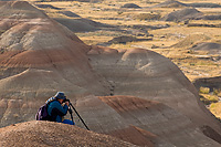 Workshop Participant, Badlands National Park, South Dakota (Charlie Anderson)