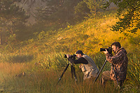 Workshop Participants Photographing at Dawn, Summer, Michigan, LeRoy Griffin, David Jones